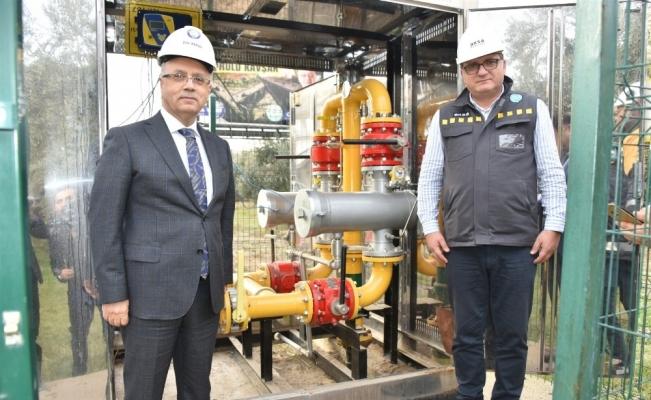Salihli'de doğalgaz mutluluğu