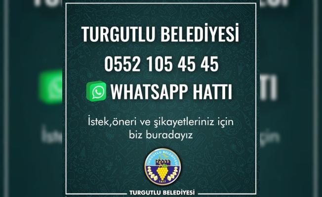 Turgutlu Belediyesi 'WhatsApp destek hattı' kurdu