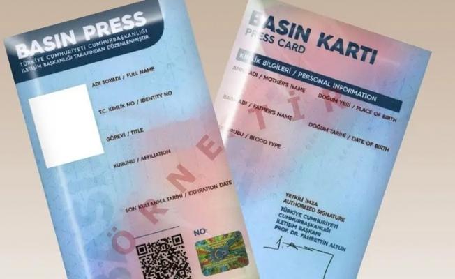 İletişim Başkanlığı'ndan basın kartı açıklaması