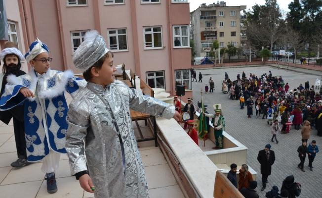 Öğrencilerden erken Mesir Festivali