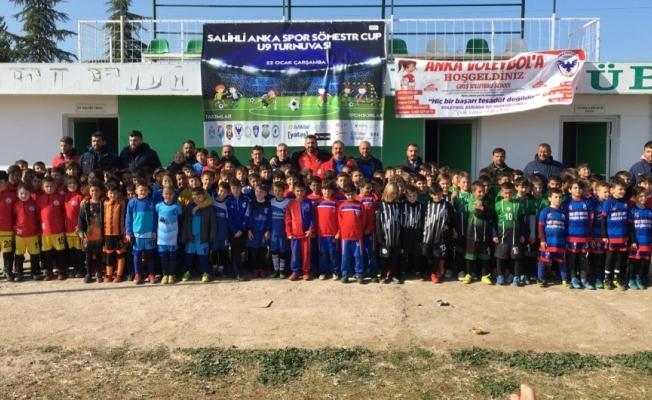 Salihli'de sömestr cup futbol turnuvası düzenlendi