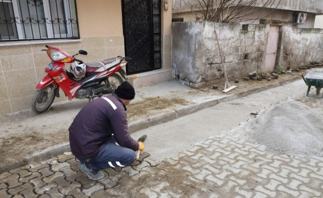Turgutlu Belediye ekiplerinin saha çalışmaları
