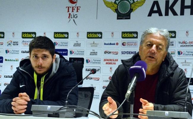 Akhisarspor - Menemenspor maçının ardından
