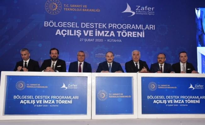 Manisa Büyükşehir'in projesine Bakan Varank'tan imza