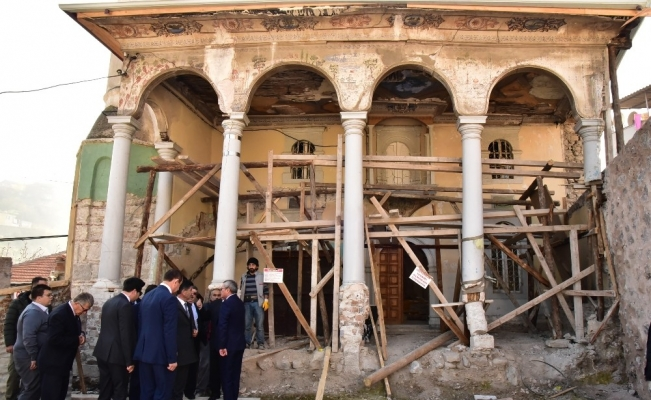 Soma'da vakıf eserleri restore ediliyor
