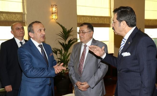 TOBB Başkanı Hisarcıklıoğlu Manisa'da iş dünyasıyla buluşacak