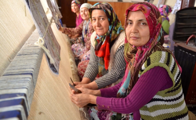 50 ülkeye ihraç edilen halılar 6 milyon dolarlık gelir sağlıyor