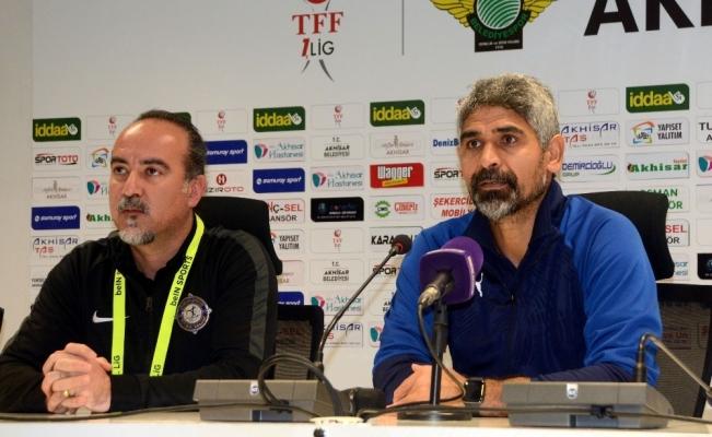 Akhisarspor - Osmanlıspor maçı ardından