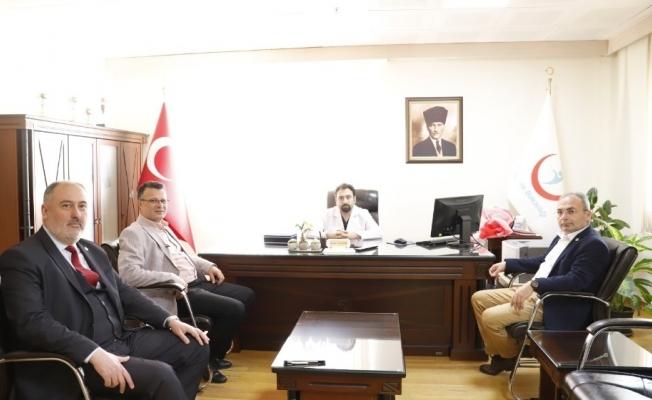 Başkan Öküzcüoğlu'ndan Tıp Bayramı'nda sağlıkçılara ziyaret