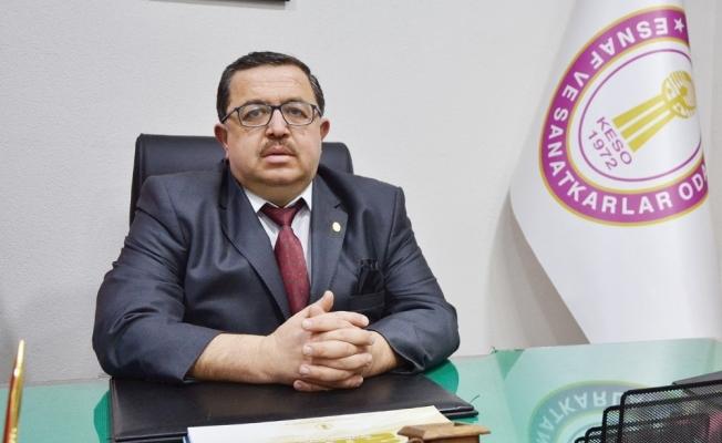 Başkan Şadan'dan esnafa faizsiz kredi talebi