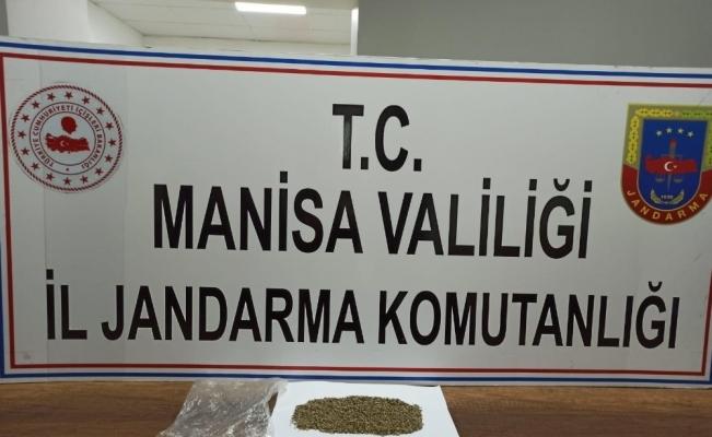 Manisa'da jandarmadan uyuşturucu operasyonu