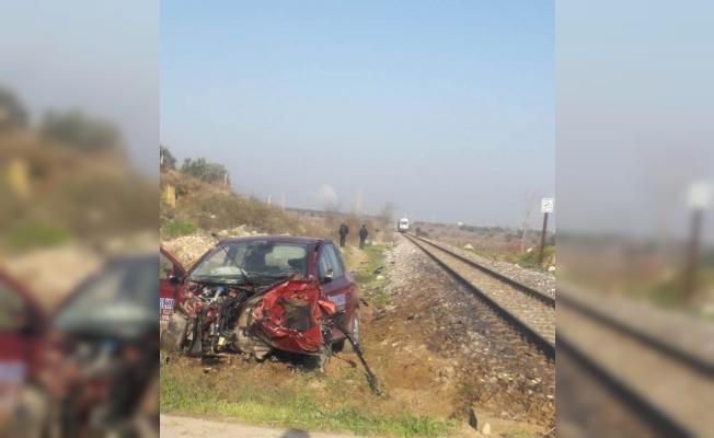 Manisa'da tren kazası: 1 yaralı