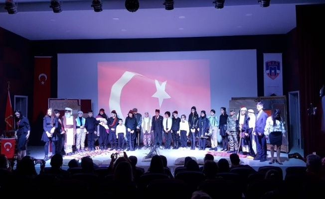 MER Kolejinde İstiklal Marşı coşkusu