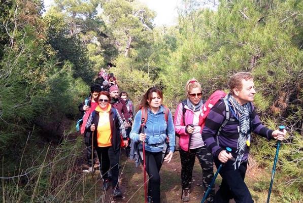 Spilos Dağcıları Kelebek Vadisi'nde yürüdü