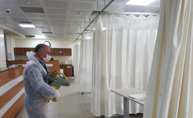 Turgutlu Belediyesinden korona virüs seferberliği