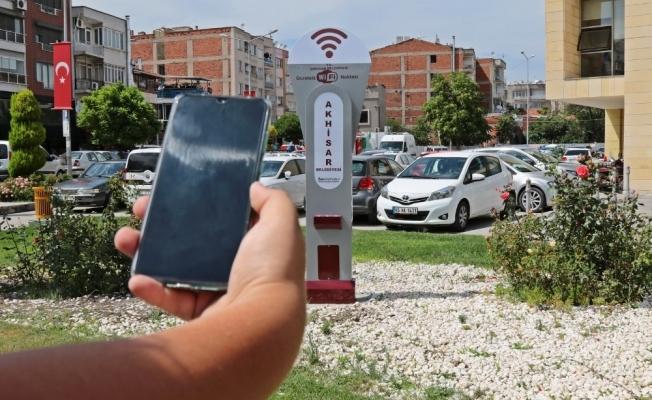 Akhisar Belediyesi'nden ücretsiz internet hizmeti