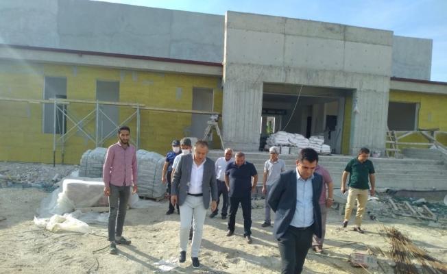Bakan Kasapoğlu'nun Selendi için söz verdiği tesisler hızla yükseliyor