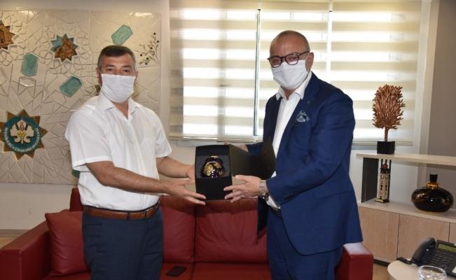Gaziantep Cumhuriyet Başsavcılığına atanan Çiçekli'den Başkan Ergün'e veda