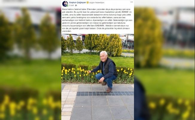 Kula'da Covid-19'dan vefat eden adamın oğlundan duygulandıran paylaşım