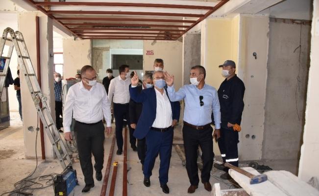 Salihli'deki 'Bizim Ev Sosyal Tesisleri' yenileniyor