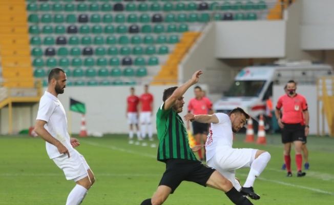 TFF 1. Lig Akhisarspor: 1 - Ümraniyespor: 0