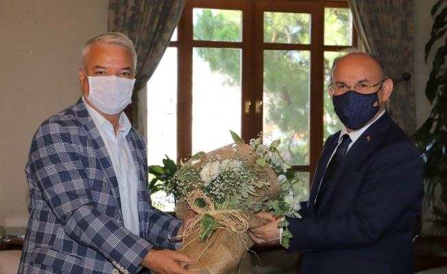 Başkan Bilgin'den Vali Karadeniz'e 'Hayırlı olsun' ziyareti