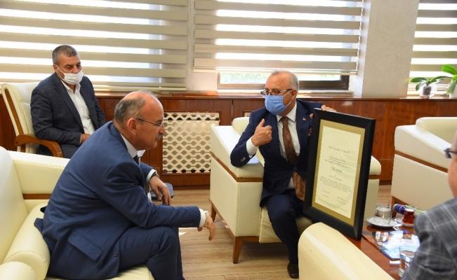 Başkan Kayda, Vali Karadeniz'e Kula-Salihli Jeoparkını tanıttı