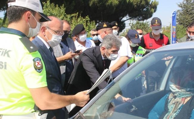 İçişleri Bakan Yardımcısı İnce, Manisa'da trafik denetimine katıldı
