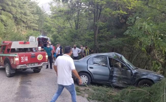 Spil Dağı Milli Parkı yolunda kaza: 1 ölü