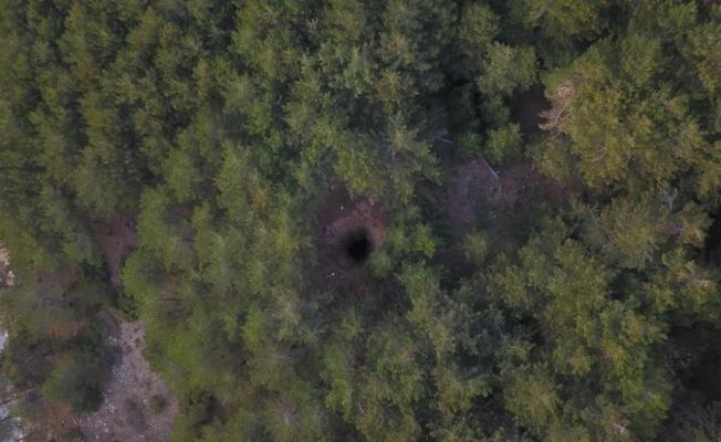 Spil Dağı Milli Parkı'ndaki obruk bölgesi güvenli hale getirildi
