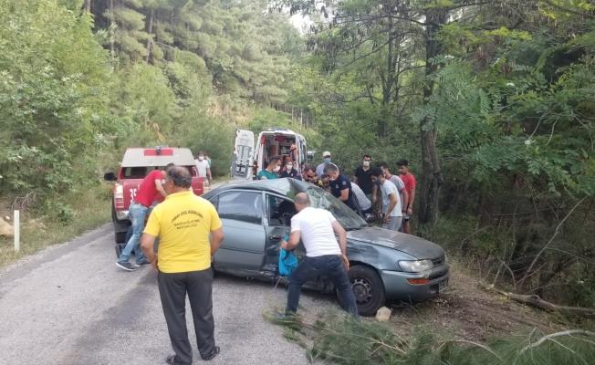 Spil Dağı'nda kaza, sürücü kurtarılamadı!