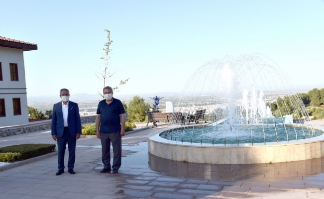 Bülent Arınç'tan Yunus Emre Kültür Parkı'na tam not
