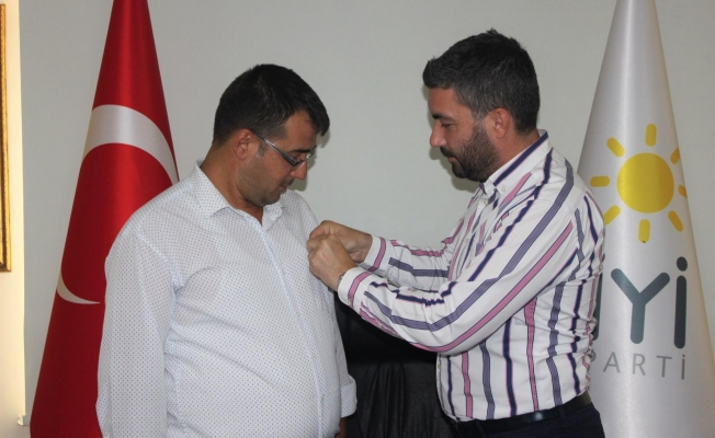 İYİ Parti Yunusemre'den bir transfer daha