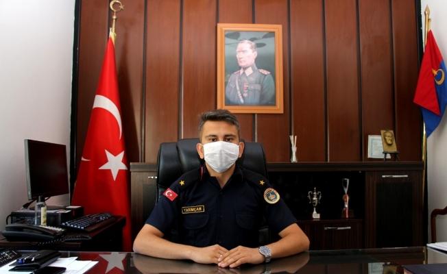 Kula'nın yeni Jandarma Komutanı Teğmen Yarımçam göreve başladı