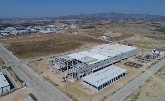 Salihli OSB 2. etapta fabrikalar yükseliyor