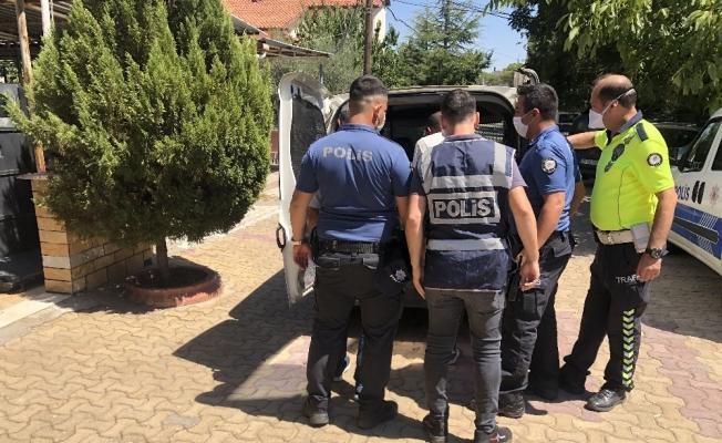 Sarıgöl'de motosiklet hırsızı tutuklandı