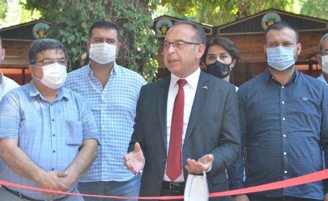 Turgutlu'da 'El emeği halk pazarı' açıldı
