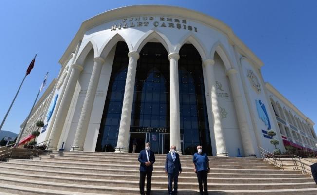Vali Karadeniz Yunusemre'nin projelerini yerinde inceledi