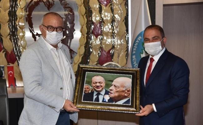 Başkan Ergün'ü duygulandıran fotoğraf