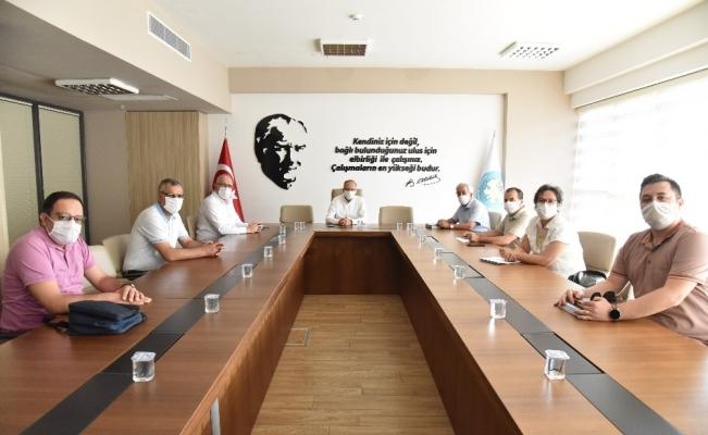 Kula-Salihli Jeoparkı'nın proje toplantısı yapıldı