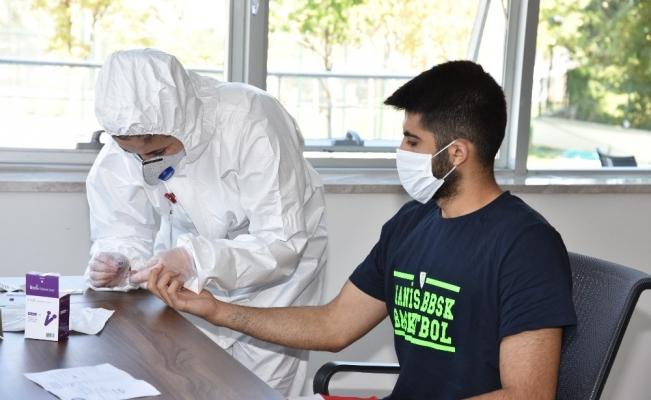 Manisa BBSK basket takımının korona virüs testleri negatif çıktı