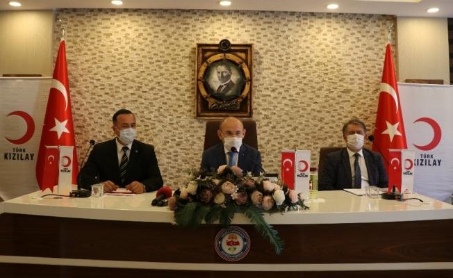 Manisa Kızılay'dan 'Manisa Sensiz Olmaz' kampanyası