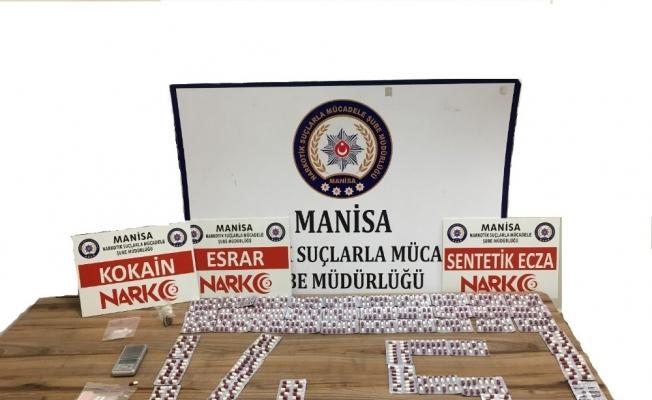Manisa polisi uyuşturucuya geçit vermiyor