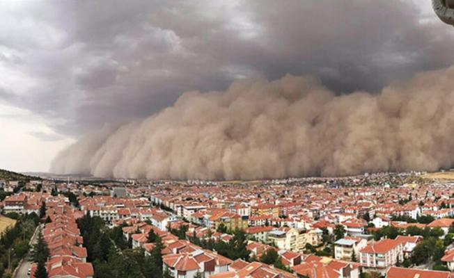 Manisa'ya kum fırtınası uyarısı