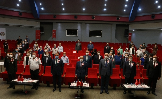 Manisa'da 'Devlet Övünç Madalyası ve Berat Tevcih Töreni' düzenlendi