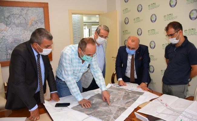 Salihli'de 400 yataklı hastane için bağlantı yolu projesi hazır