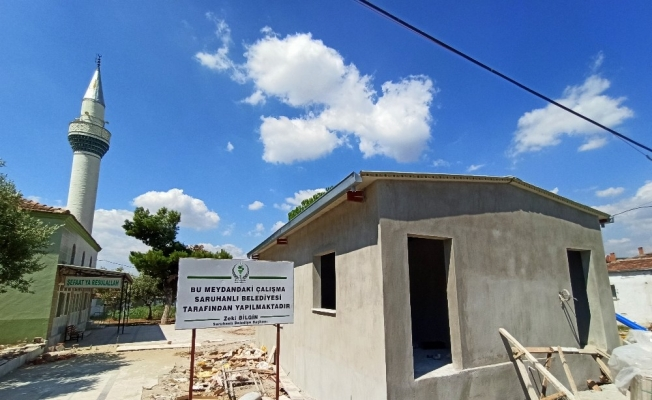 Saruhanlı Belediyesinden Çakmaklı Mahallesine yeni yatırımlar