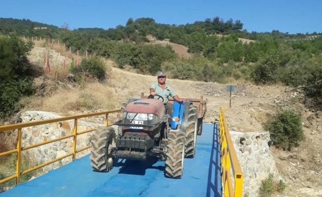 Soma'da çiftçilerin tehlikeli yolculuğunu bitiren çalışma