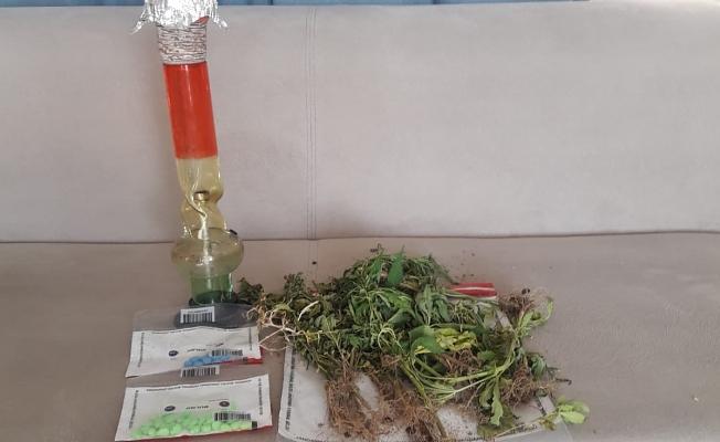Spil Dağı Sultan Yaylası'nda uyuşturucu operasyonu