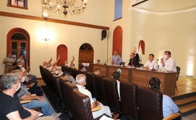 Turgutlu Eylül ayı meclis toplantısı yapıldı